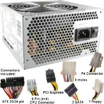 Desktop Power Supply Repair Savannah, Rincon GA
